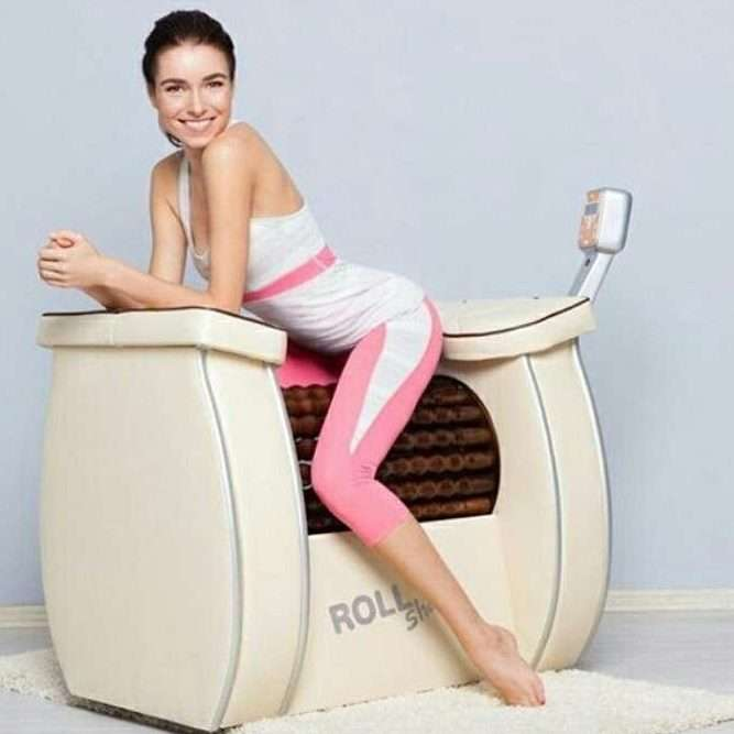 Limphdreinage massage for slimming roll shape in Breeze studio